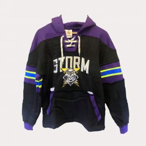 Hockey Hoodie – Purple/Black